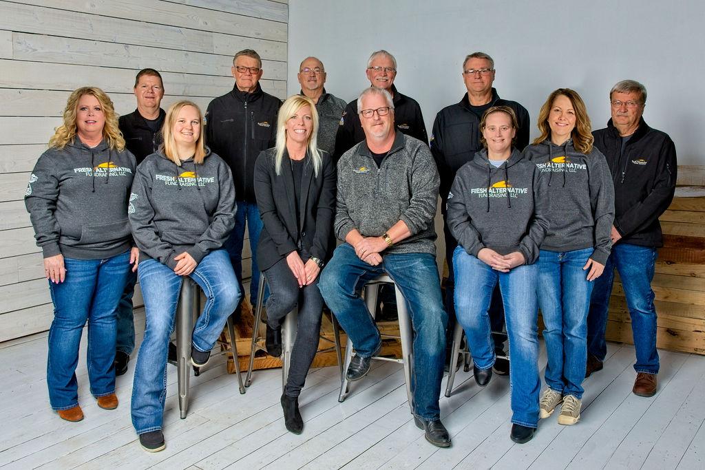 Fresh Alternative Fundraising team