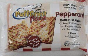 PuffCrust Pizza Pepperoni Packaging